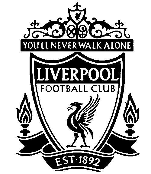Kleurplaat Voetbal Liverpool 18