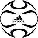 Coloring page Adidas soccer ball