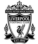 Malebøger Liverpool badge