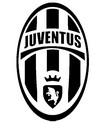 Coloring page Juventus Turin badge