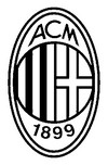 Coloring page Milan AC badge