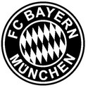 Coloring page Bayern München badge
