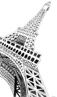 Coloring page Paris - Eiffel tower