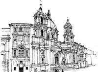 Coloring page Italy - Rome