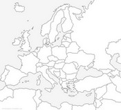 Coloring Page Map Of Europe