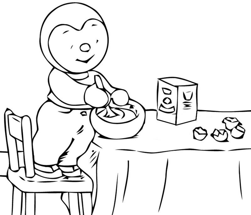 Malvorlagen Pfannkuchen