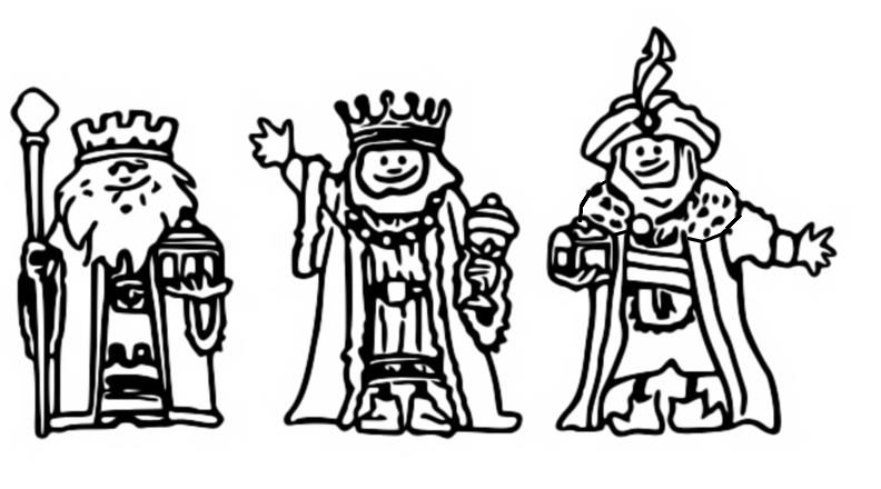 epiphany coloring pages free - photo#36
