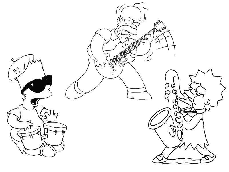 Coloring Page Music 9