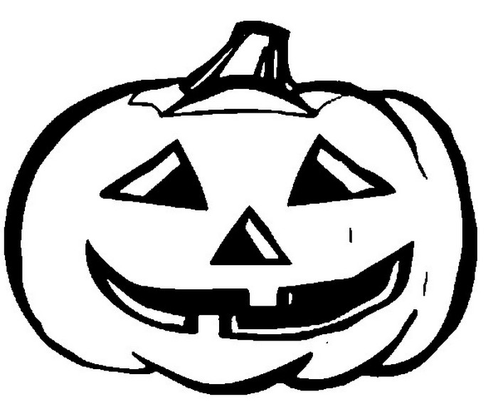 Coloring Page Halloween Halloween Pumpkin 8