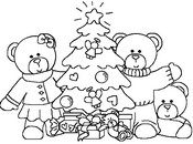 Malebøger Juletræ