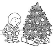 ぬりえ クリスマス