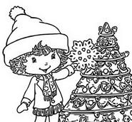 Desenho para colorir Natal