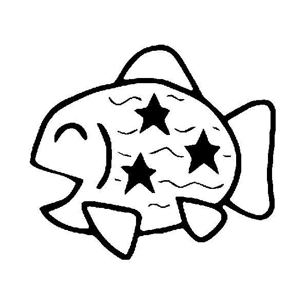 Disegno da colorare pesce d 39 aprile 4 for Immagini da colorare di pesci
