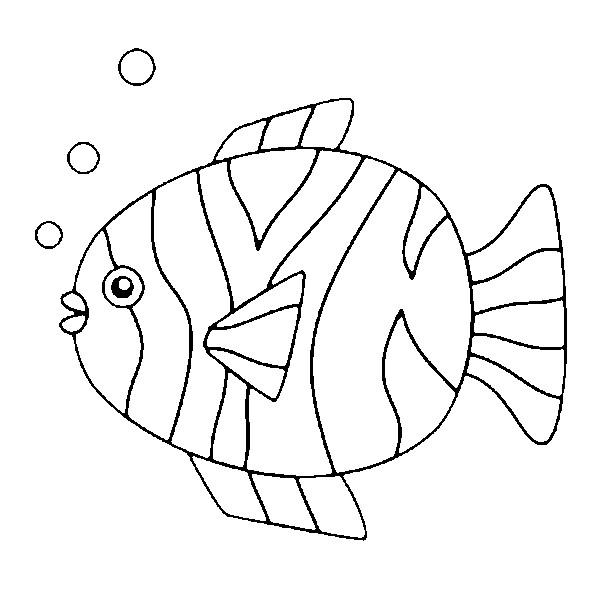 Top Disegno da colorare Pesce d'aprile 5 WU51