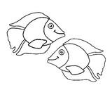 Disegno da colorare Pesce d'aprile