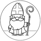 Coloring page Saint Nicholas Day