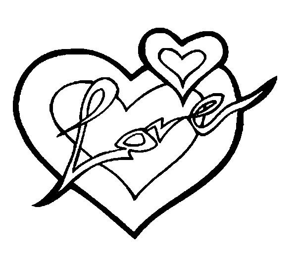 disegno da colorare san valentino 7