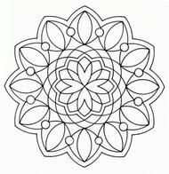 Coloring page Mandalas