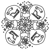 Malebøger Snemand