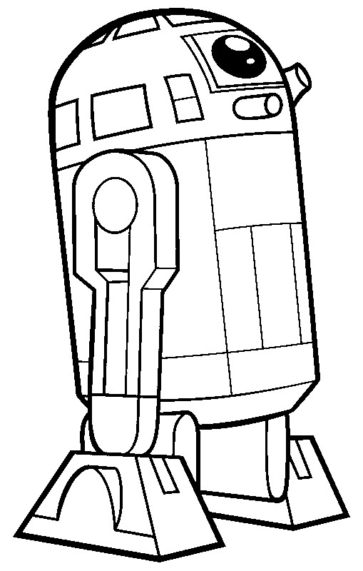 r2d2 coloring pages-#4