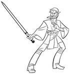 Dibujo para colorear Clone Wars