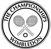 Desenho para colorir Logo Wimbledon
