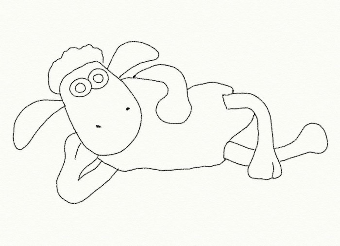 Free Coloring Pages Of Shaun The Sheep Shaun The Sheep Colouring Pages