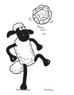Malvorlagen Shaun das Schaf