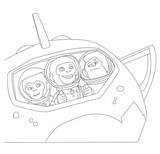 Malvorlagen Space Chimps