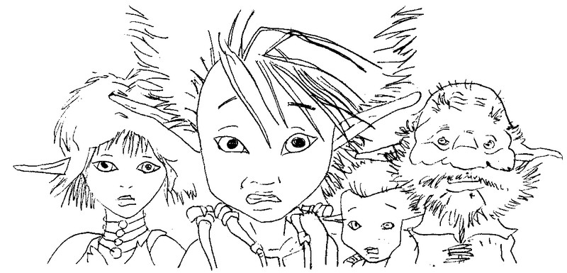Coloring Page Arthur And The Minimoys 4