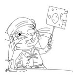 Coloring page The Tale of Despereaux