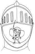 Disegno da colorare Le Avventure del Topino Despereaux