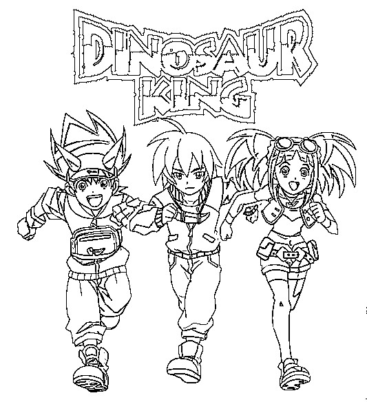 dinosaur king coloring pages Coloring Pages Dinosaur King Drawing dinosaur king coloring pages