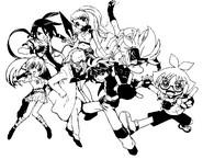 Dibujo para colorear Bakugan