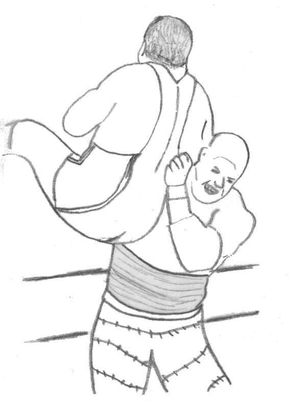 Dibujo para colorear Lucha libre 20