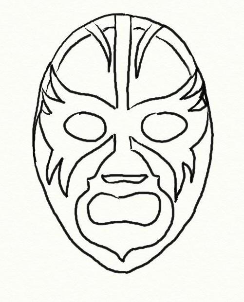 Wrestling Da Colorare.Disegno Da Colorare Wrestling 3