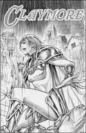 Coloring page Claymore