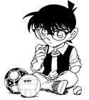 Disegno da colorare Detective Conan