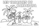 Desenho para colorir Barbapapa