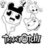 Desenho para colorir Tamagotchi