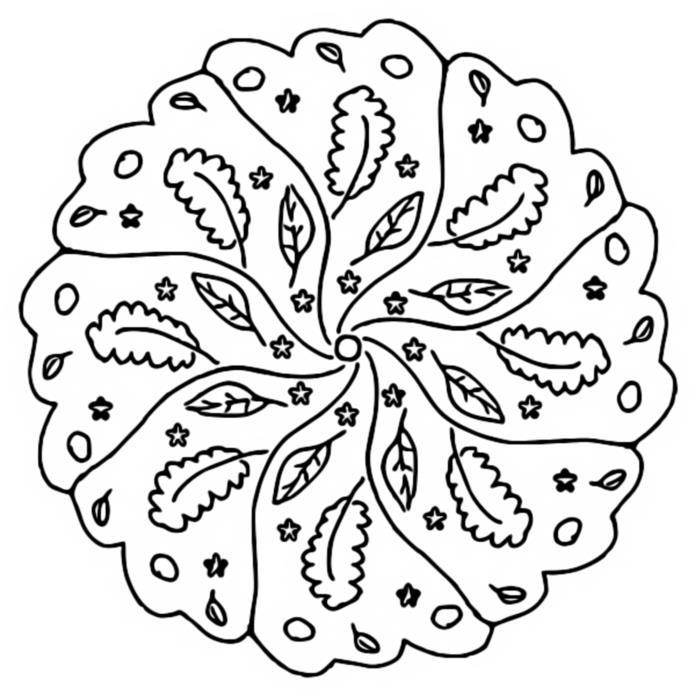 malvorlagen mandalas von herbst 1