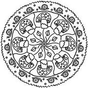 Tulostakaa värityskuvia Sienet, etanat