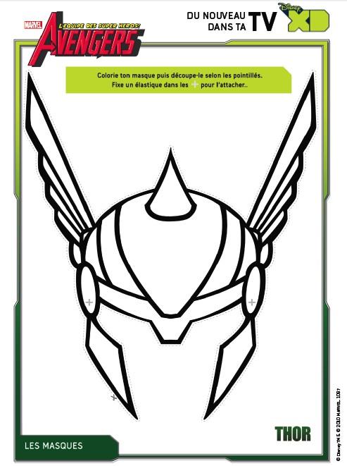 Dibujos para colorear Los Vengadores Dibujos para imprimir