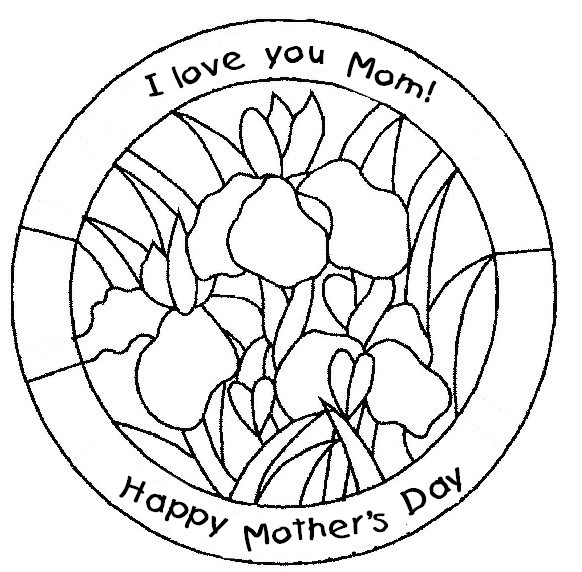 Coloring Page Mother S Day 1