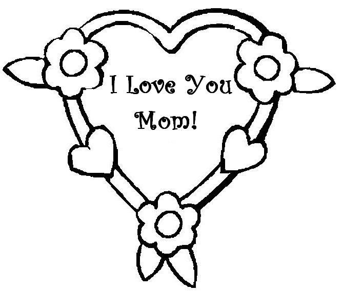 Coloring page Mother\'s Day 5
