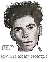 Coloring page RIP Rest in peace Cameron Boyce