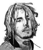 Coloring page Lil Pump
