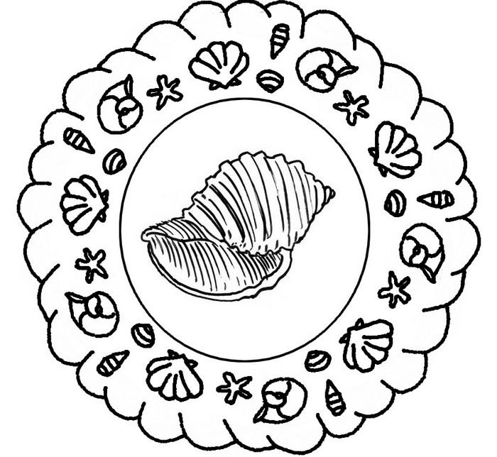Disegno Da Colorare Mandala Di Estate 2