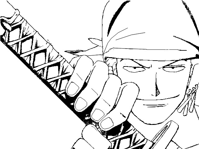 Coloring Page One Piece 4