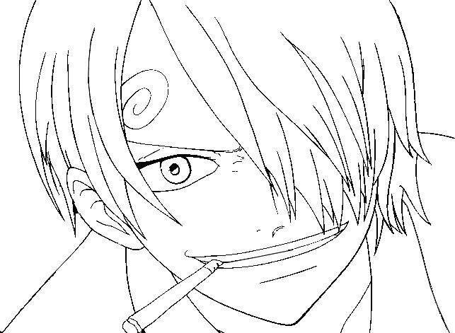 Disegno Da Colorare One Piece 6